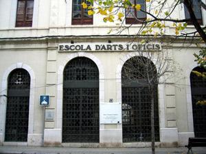 Façana de la Fundació_Escola Arts i Oficis