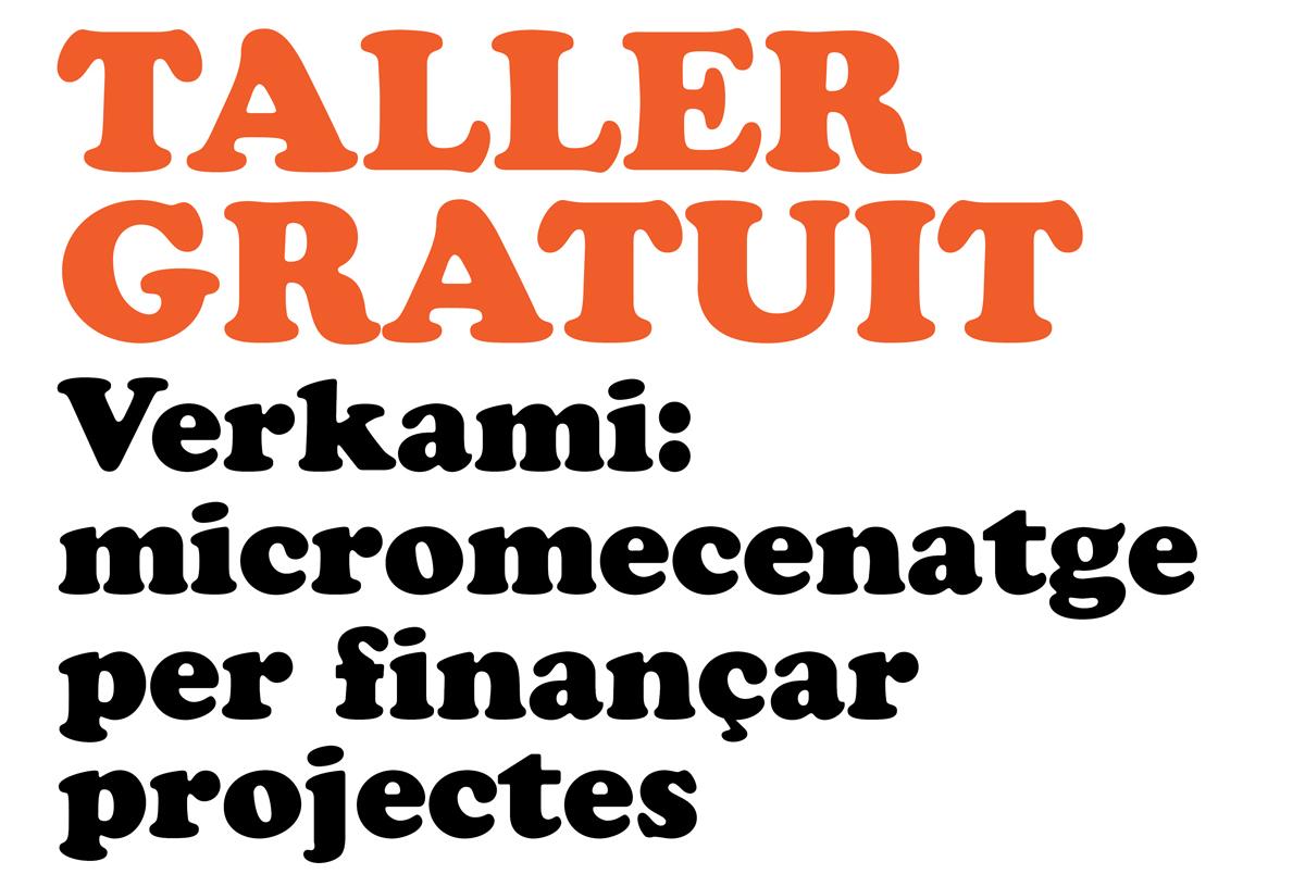 Taller gratuit de Verkami a LaClerch