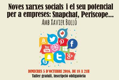 Noves xarxes socials a La Clerch, amb Xavier Bolló d'ElGiroscopi